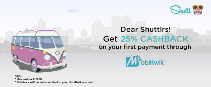 Easier Shuttl Payments with MobiKwik