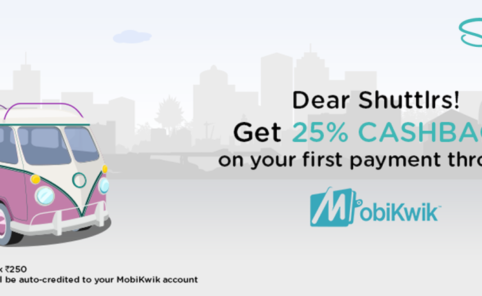 Easier Shuttl Payments withMobiKwik
